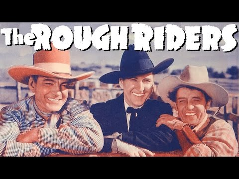 Below the Border 1942 THE ROUGH RIDERS