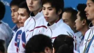Medal Ceremony 16th Asian Games Sepaktakraw Men Team
