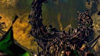 Demon's Souls - Leechmonger Boss Fight (4k 60fps)