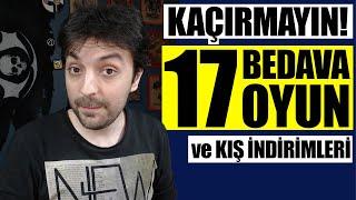 17 BEDAVA OYUN! / EPIC GAMES STORE KIŞ İNDİRİMLERİ!