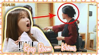 Oh My Girl getting Pranked by Dingo (Strange Hair Salon) | KROMS