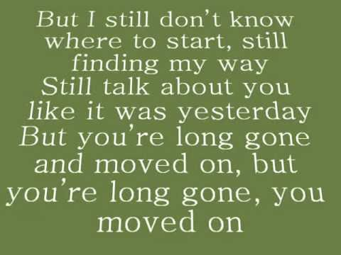 The Script - Long Gone And Moved On (with lyrics)