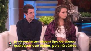 Video (BR) 13 Reasons Why | Katherine Langford & Dylan Minette | The Ellen Show LEGENDADO download MP3, 3GP, MP4, WEBM, AVI, FLV Oktober 2017