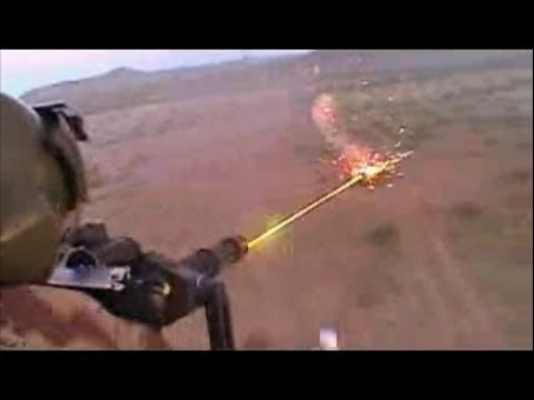 Helicopter Minigun in Action Firing Shooting Training Video Chopper Gunships Dillon M134 Gatling Gun