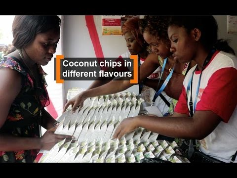 Cameroon: Coconut chips in different flavours