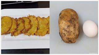 لو عندك واحدة بطاطس وبيضة هنعمل وجبة تحففففه للغدا او العشا.