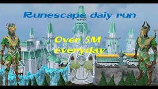 Runescape 2016 ~5M~ Daily Run.