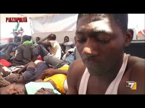 Piazza Pulita - 30 Maggio 2016 - Migranti economici, dalla Libia all'Italia