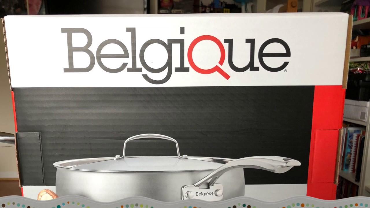 Belgique 5 QT Stainless Steel Sauté Pan - Unboxing