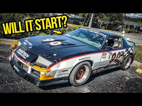 Rebuilding An Abandoned Chevy Camaro Z28 1LE Race Car In 48 Hours