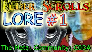 [TESLORE] The Elder Scrolls #1: Intro to the Lore Community, The Meta, Kirkbride & C0DA