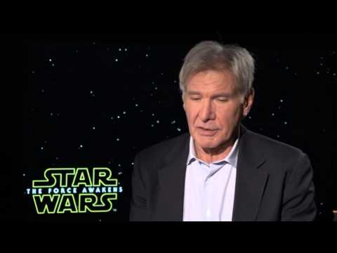 """Star Wars: The Force Awakens: Harrison Ford """"Han Solo"""" Official Movie Interview"""