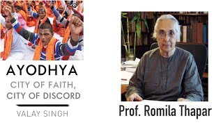 """""""History can never be used to justify faith"""": Romila Thapar"""