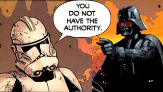 The Clone Commander that Demoted Darth Vader - Star Wars Comics Explained