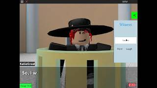 The Hotel Murder Turnabout:Roblox Ace Attorney Fan Case. Part 2.