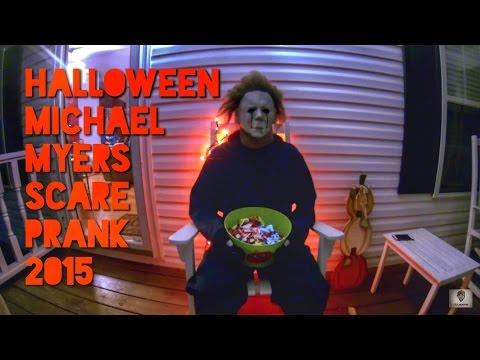Halloween Michael Myers Scare Prank 2015