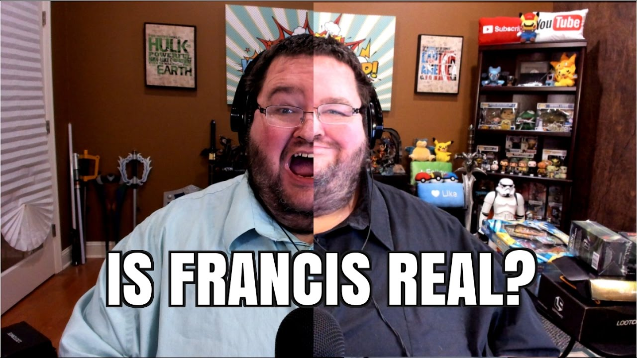 IS FRANCIS REAL? The truth about francis RAGES and boogie2988!