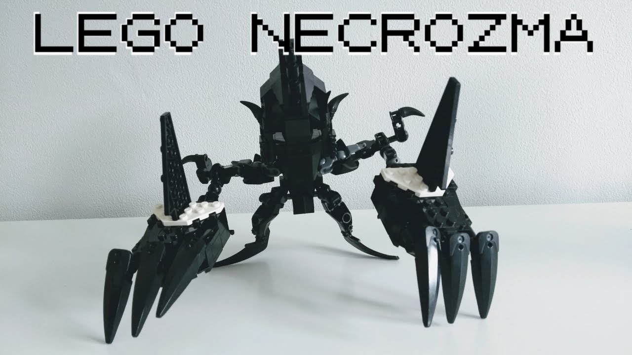 Lego Pokemon Sun Amp Moon Necrozma Ultra Beast Youtube
