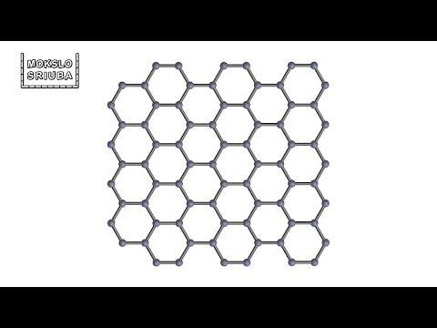 Mokslo sriuba: apie supermedžiagą grafeną