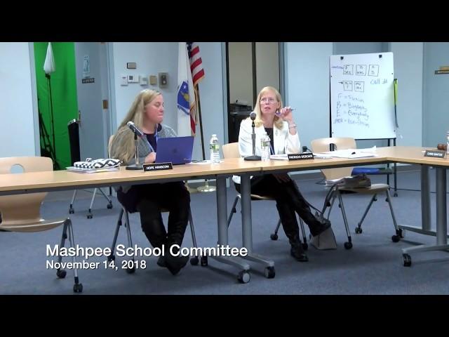 School Committee 11 14 18