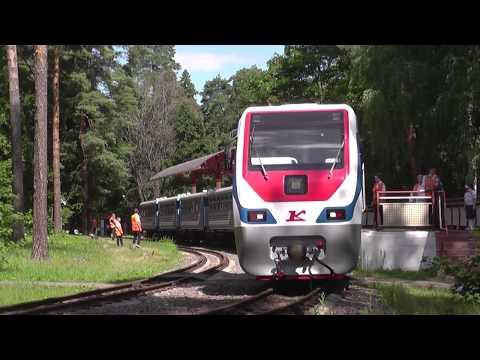 Московская детская железная дорога в Кратово