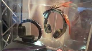 New Monster Headphones CES 2012