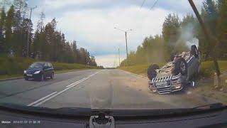 Подборка  ДТП и аварий умный водитель #77   дтп октябрь 2020