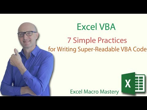 7 Simple Practices for Writing Super-Readable VBA Code
