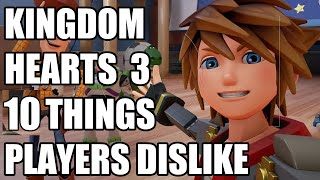 10 Things Players Dislike About Kingdom Hearts 3