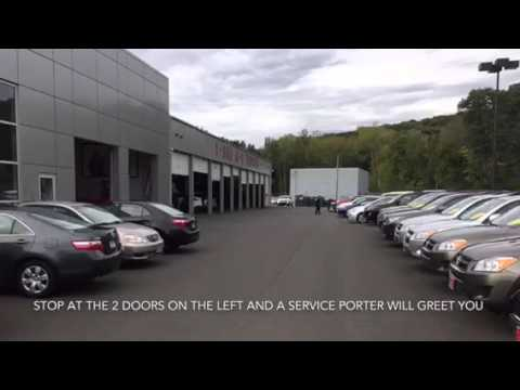Service Drive Renovation Announcement From A 1 Toyota In New Haven, CT