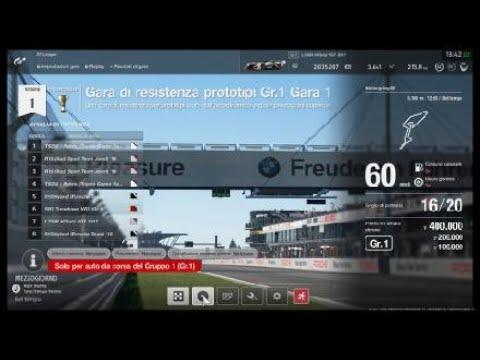 Gran Turismo sport 60 minutes challenge prototypes