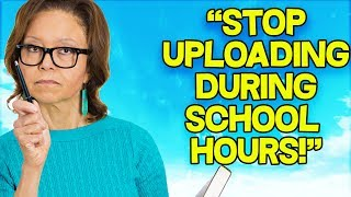 ANGRY TEACHER calls me on SKYPE!..... *FINALLY*