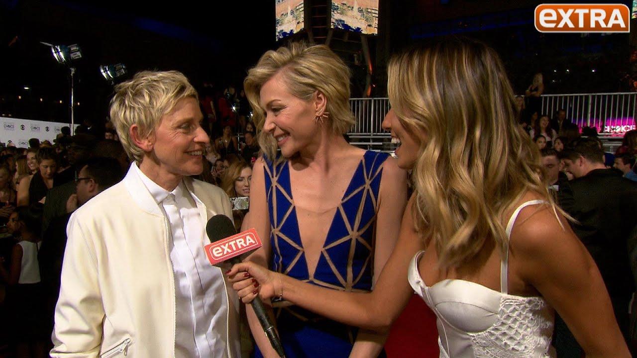 Ellen DeGeneres Says Pranks On Wife Portia De Rossi Will