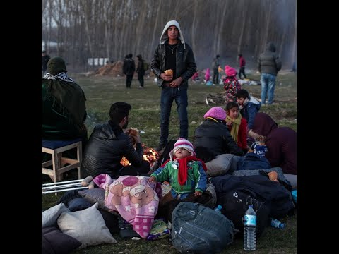 Migrants Mass On Turkish-Greek Border To Try To Enter EU