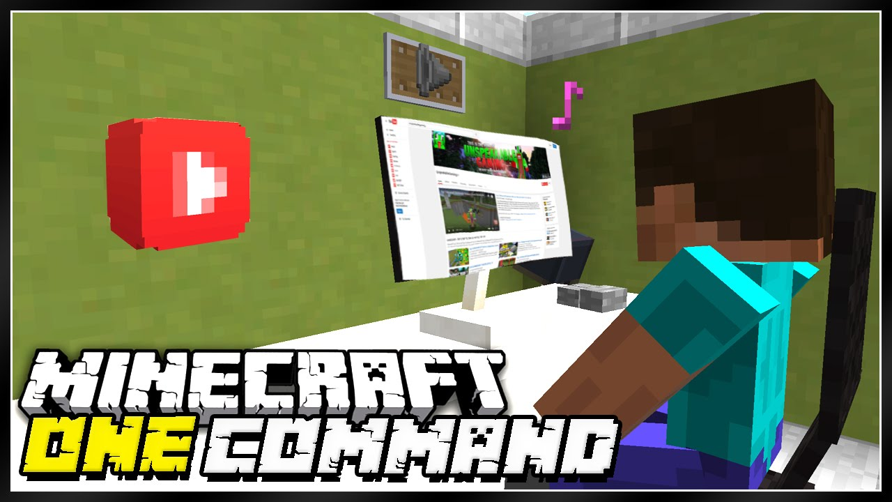 become a youtuber in minecraft! - youtube