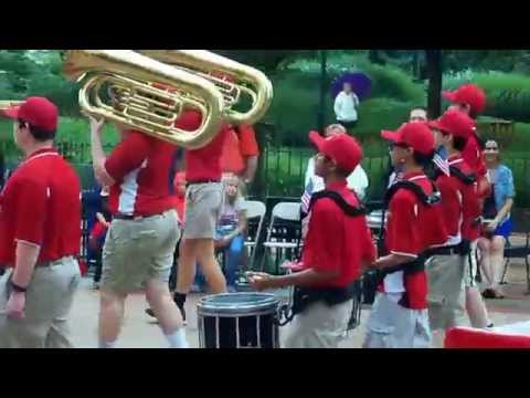 "Towson 4th of July Parade 2015 ""Calvert Hall College High School"""