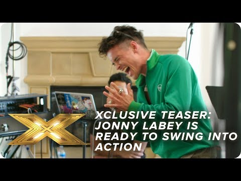 XCLUSIVE TEASER: Jonny Labey is ready to SWING in to action! | X Factor: Celebrity