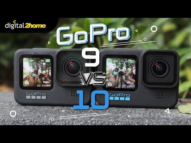 Compare : Gopro Hero 9 VS Gopro Hero 10 กับความสามารถที่มากขึ้น!