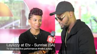 Laylizzy says Hello on ETV Sunrise