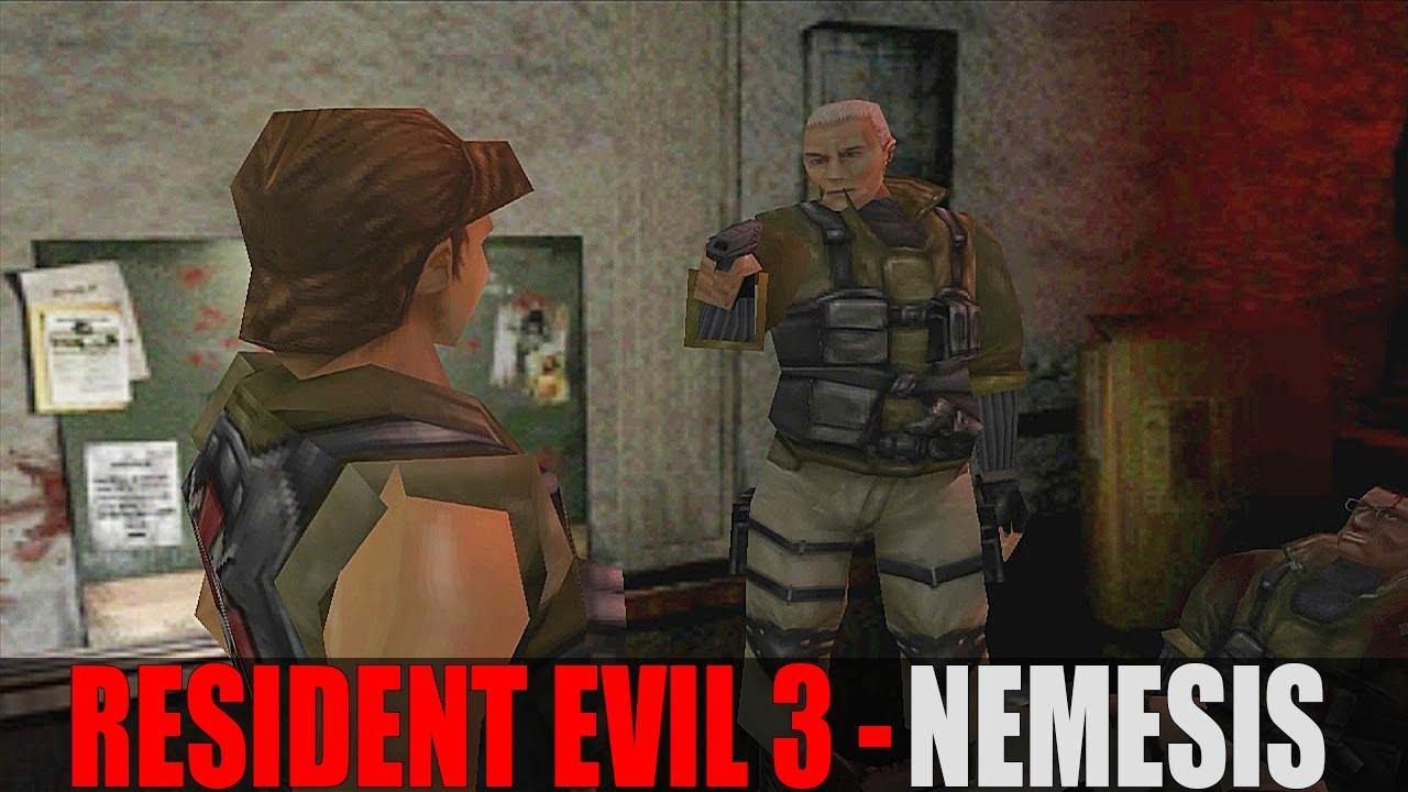 Resident Evil 3 08 Jogando Com Carlos Oliveira Ps1 Youtube