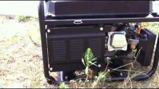 видео Бензиновый генератор  Hyundai HHY3000FE