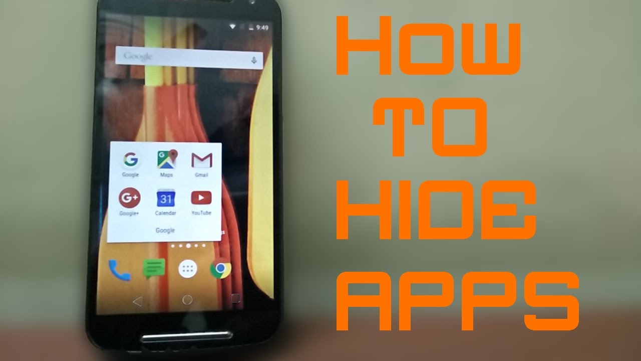 {Hindi} How To Hide Apps In Android No Root