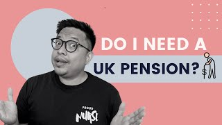 Do I need a UK Pension? Do I need this series! Should i cancel my pension?