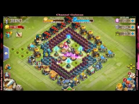 Castle Clash-6th Hero Base At 37k Might, Level 5 Talent Chest, Rolling Gems And SHC
