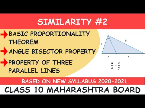 CLASS 10 - SIMILARITY - BASIC PROPORTIONALITY THEOREM - ANGLE BISECTOR PROPERTY - LOTUS ACADEMY