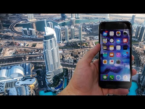 Thumbnail: Dropping the iPhone 7 Plus From The World's Tallest Building (829 meters)