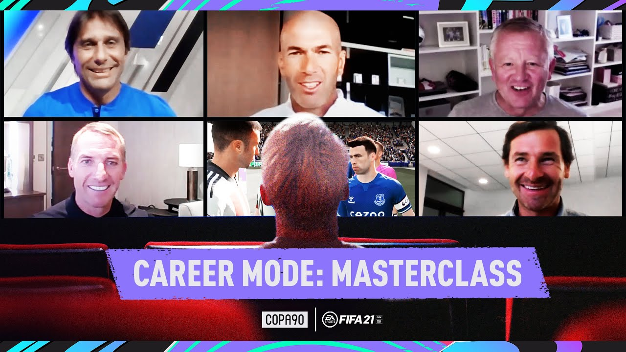 Download Zidane, Conte, AVB, Rodgers & Wilder - Managerial Masterclass | FIFA 21 Career Mode