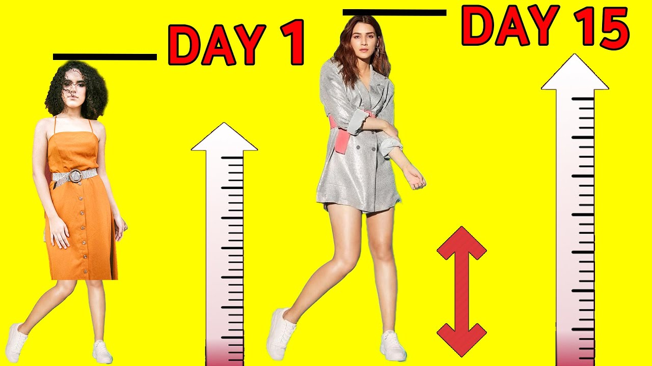 Download Just 2 Simple Yoga and 5 Foods to Increase Your Height in 15 days | Height Increase Exercise & Foods