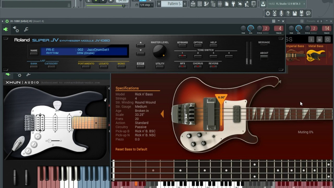 xhun audio ironaxe vst physically modelled electric guitar demo youtube. Black Bedroom Furniture Sets. Home Design Ideas