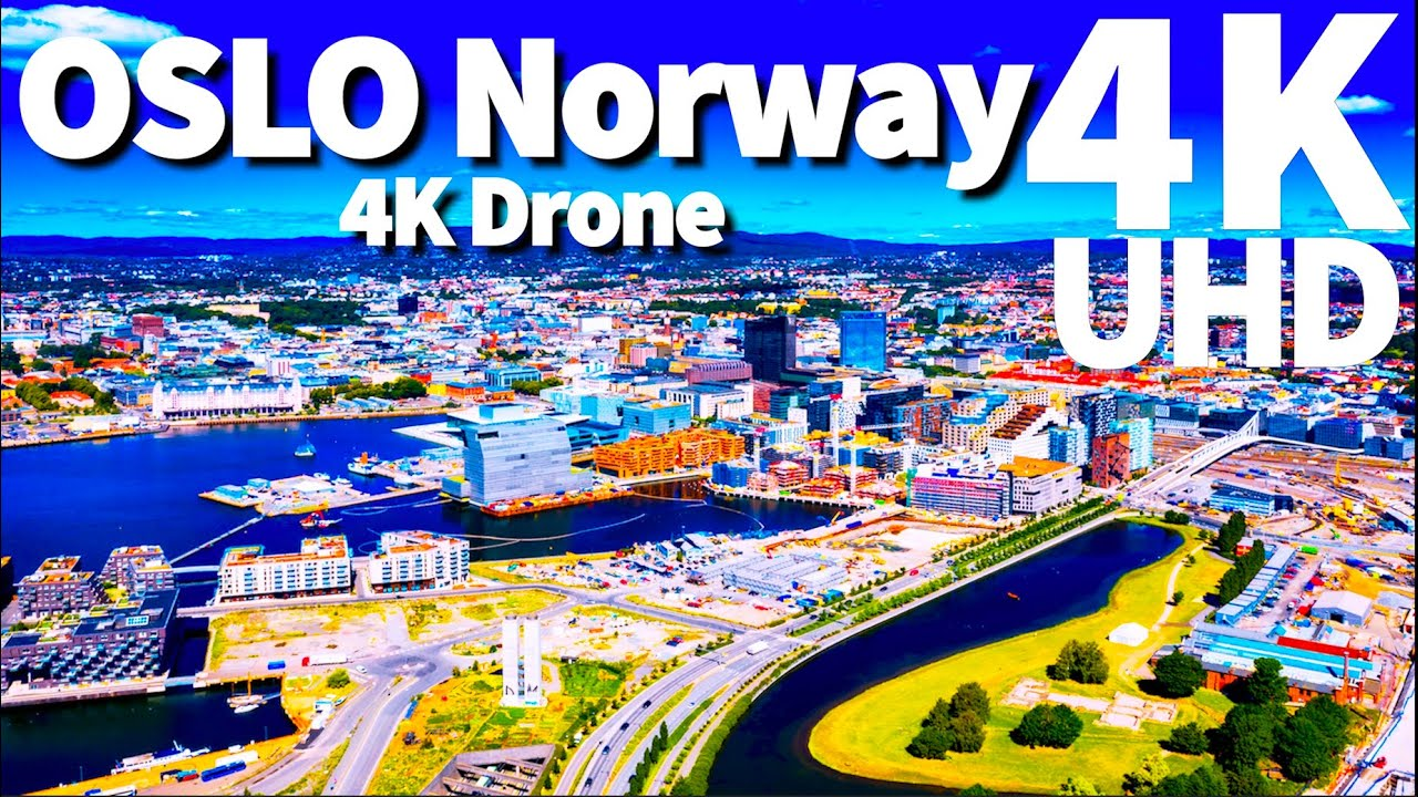 Download Oslo Norway in 4K ULTRA HD HDR Drone